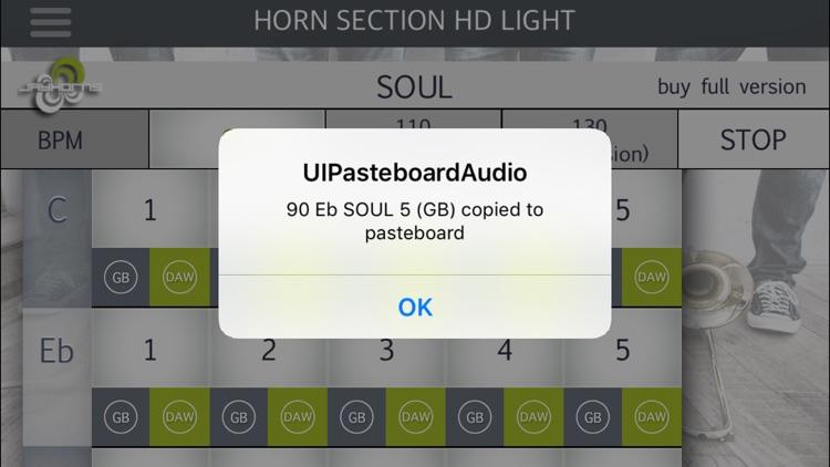 Horn Section HD Light