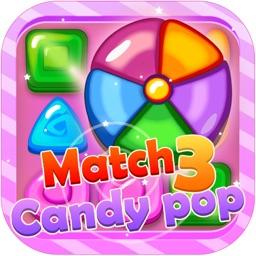 Match 3 Candy Pop - Match 3 Adventure