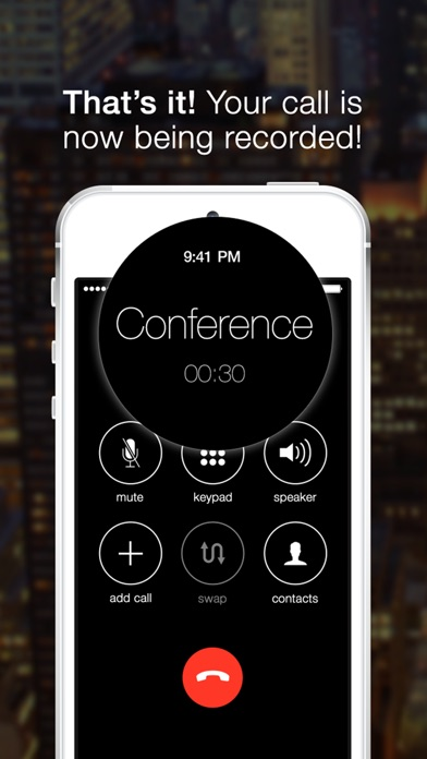 Screenshot #3 for TapeACall Pro: Call Recorder