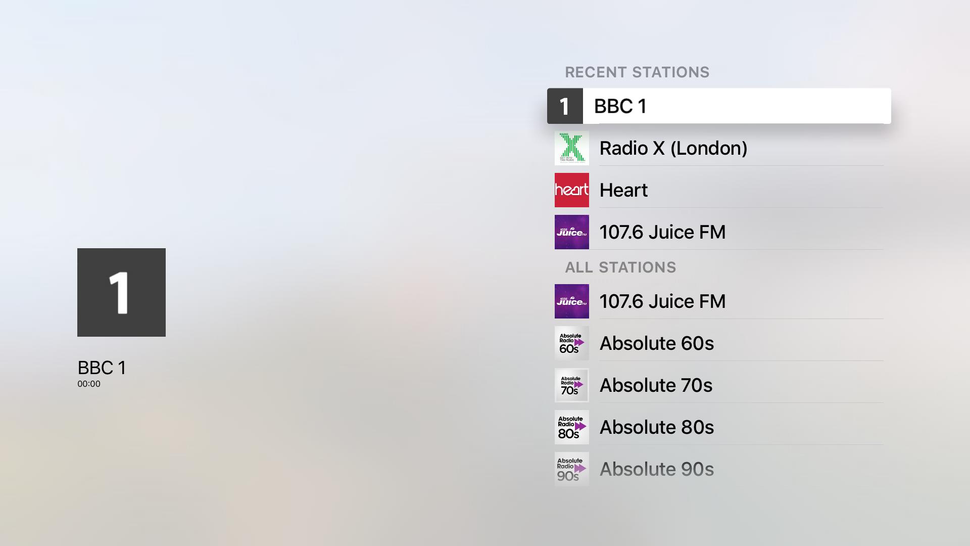 UK Radio screenshot 1
