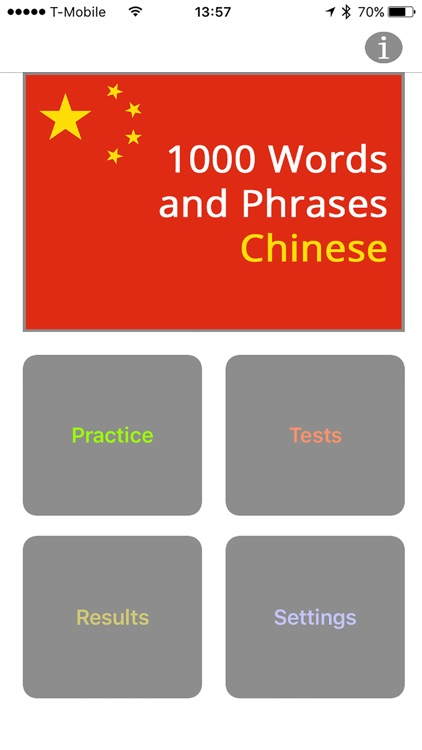 1000 Words and Phrases - Chinese screenshot-0
