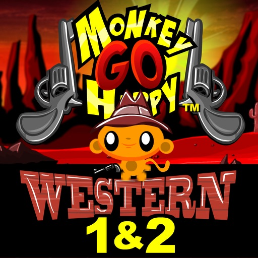 Monkey GO Happy Western 1 and 2