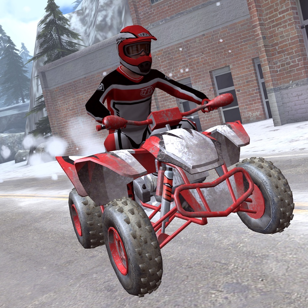 ATV Snow Racing - eXtreme Real Winter Offroad Quad Driving Simulator Game FREE Version hack