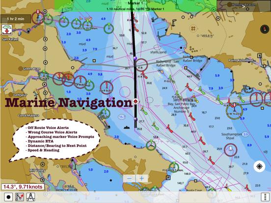 Screenshot #5 pour i-Boating: Nautiques Cartes