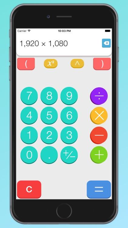 MathJoy – The Friendly Calculator screenshot-0