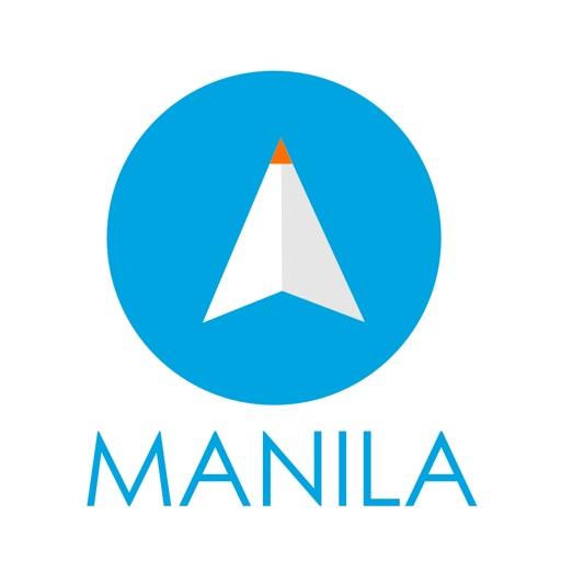 マニラ(フィリピン)旅行者のためのガイドアプリ 距離と方向ナビのPilot(パイロット)