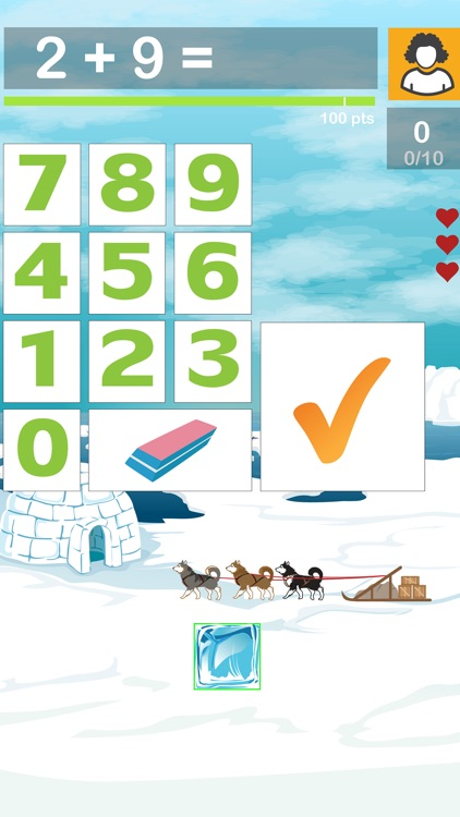 Box Drop Math Addition Game: A Fun Way for Kids to Practice and Learn Basic Facts screenshot-0