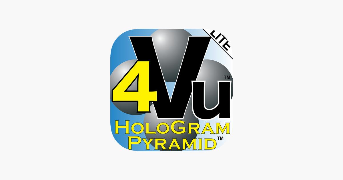 HoloGram Pyramid™ 4Vu™ LITE on the App Store