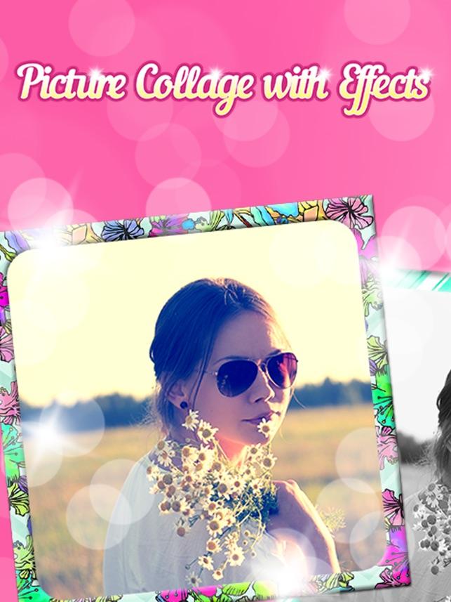 Bild.collage mit Effekt.en - Spaß Foto.grafie Redakteur im App Store