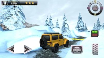 Snow Truck Parking - Extreme Off-Road Winter Driving Simulator FREEのおすすめ画像2