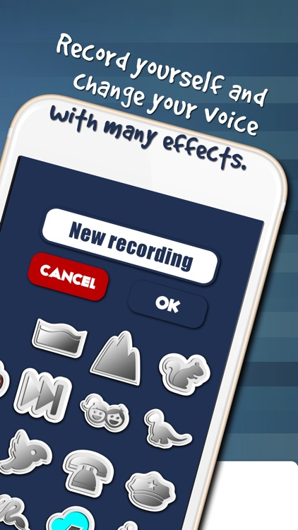 Creative Voice Changer and Ringtone Maker – Alter Sounds or Songs with Cool Recording Button