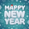 New Year Makeup - Visage Camera to Place Holiday Stickers onto Face Photos