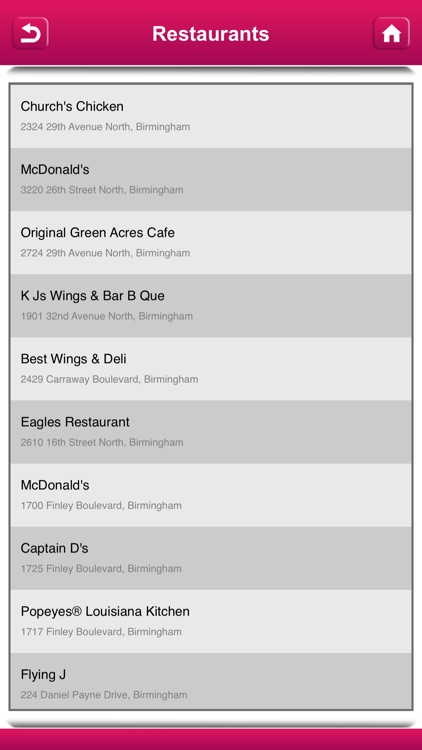 Chicken Restaurants USA & Canada screenshot-4