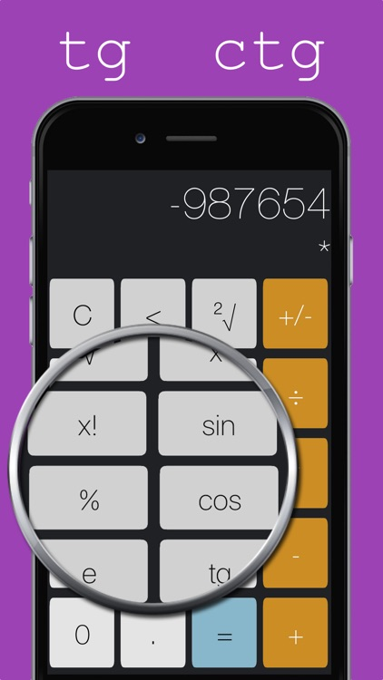 Calculightor - light and easy calculator screenshot-3