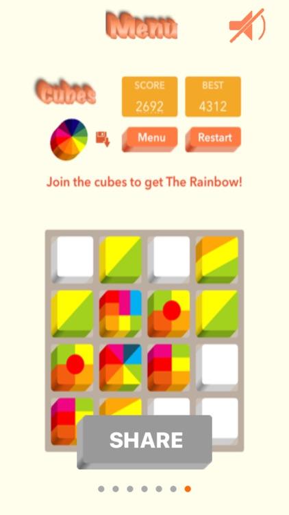 Cubes - Addictive Puzzle Game screenshot-4