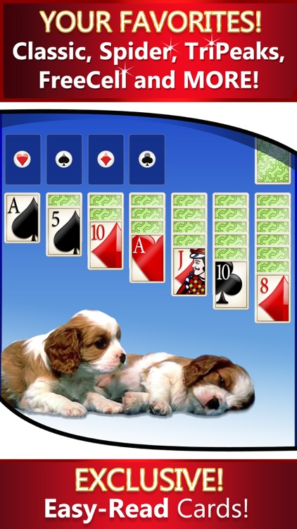 Solitaire Deluxe® 16 Pack: Classic, Spider, more