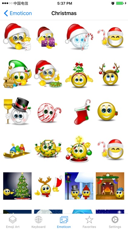 Best Emoji Keyboard - Customized with New Animated Emojis, Gif & Cool Fonts screenshot-4