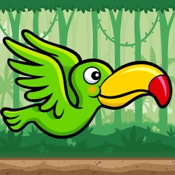 Flying Parrot Jungle Game - PRO