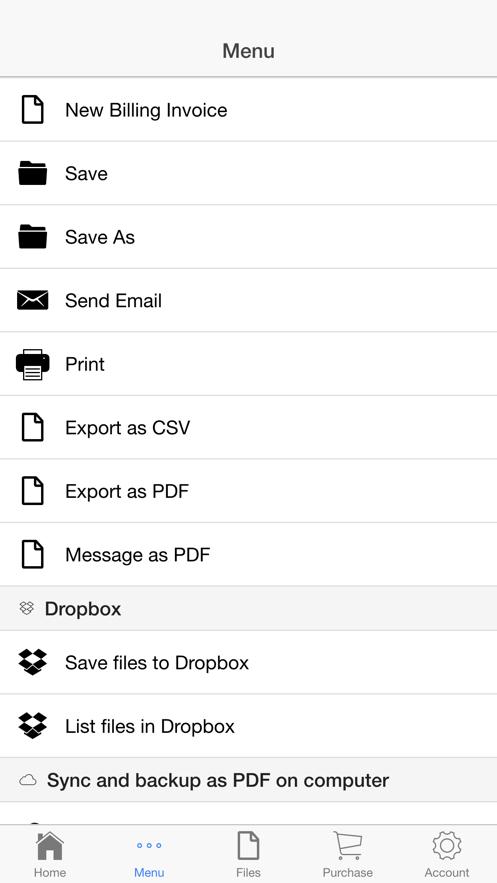 Billing Invoice App 截图