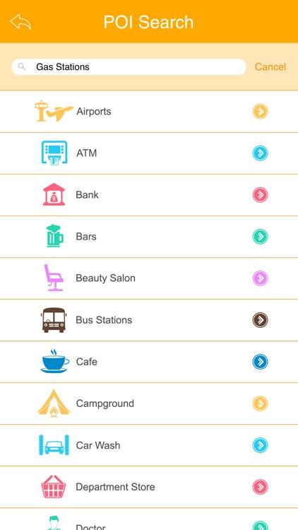 Travel Plazas USA and Canada screenshot-3