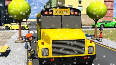 download Winter School Bus Parking Simulator apps 2