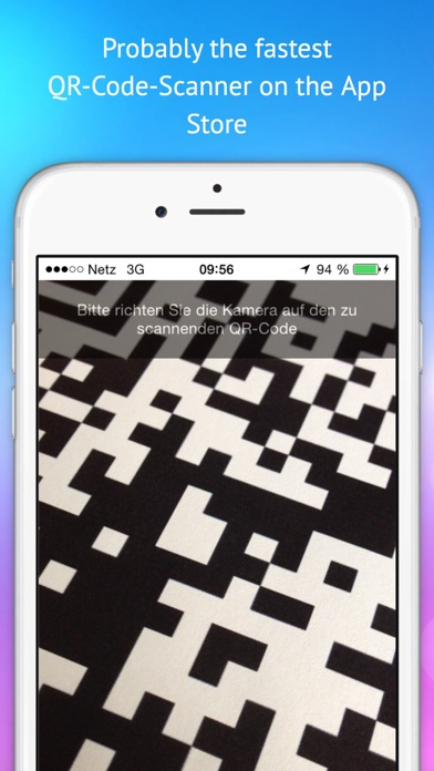 QR Code Scanner - Free and Fast Screenshot on iOS