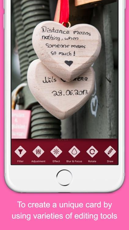 Valentine Wishes App