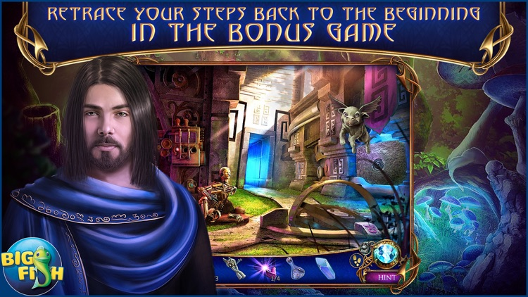 Amaranthine Voyage: The Obsidian Book - A Hidden Object Adventure (Full) screenshot-3