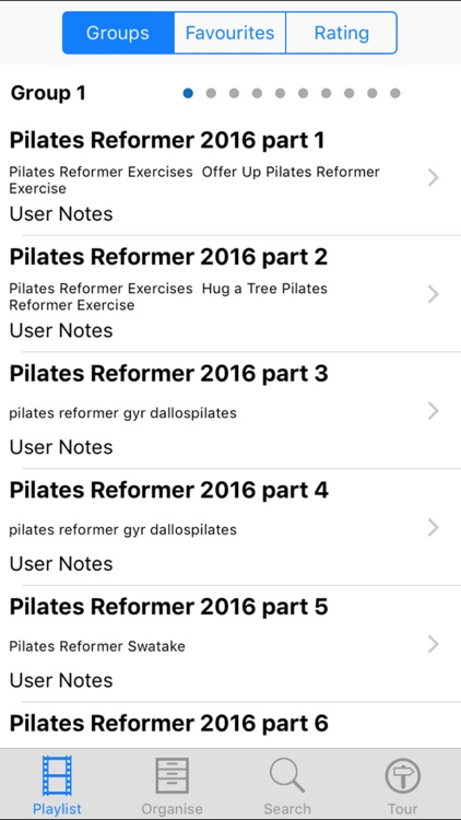 Pilates Reformer 2016 screenshot-1