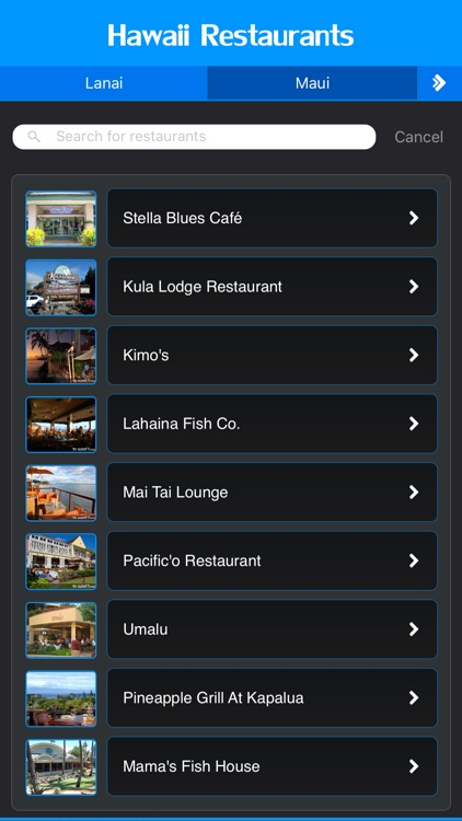 Hawaii Restaurants screenshot-1