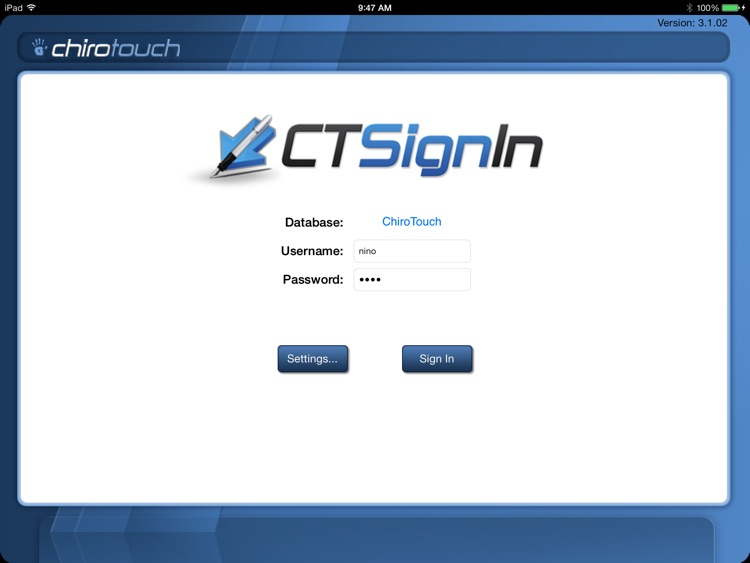 CT Sign-In Mobile 6.3