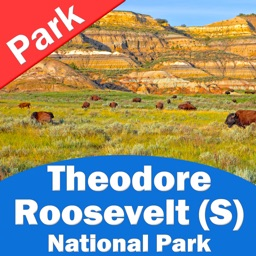 Theodore Roosevelt National Park (SOUTH) Billings County – GPS Offline Park Map Navigator