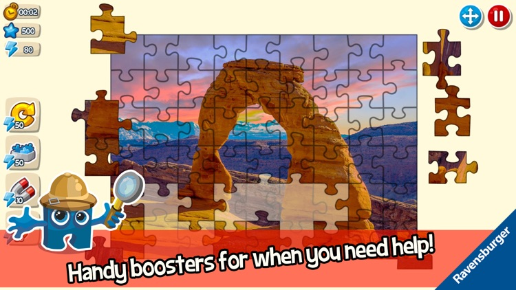 Puzzle Adventures - Jigsaw fun screenshot-4
