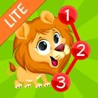 连点动物的儿童和幼儿 - 免费 icon