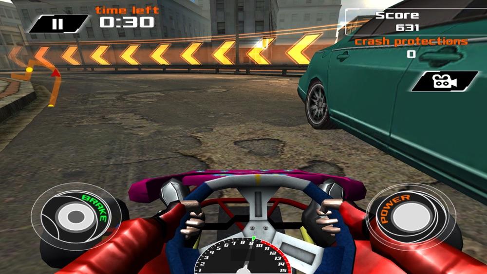 3D Go-kart City Racing – Outdoor Traffic Speed Karting Simulator Game FREE