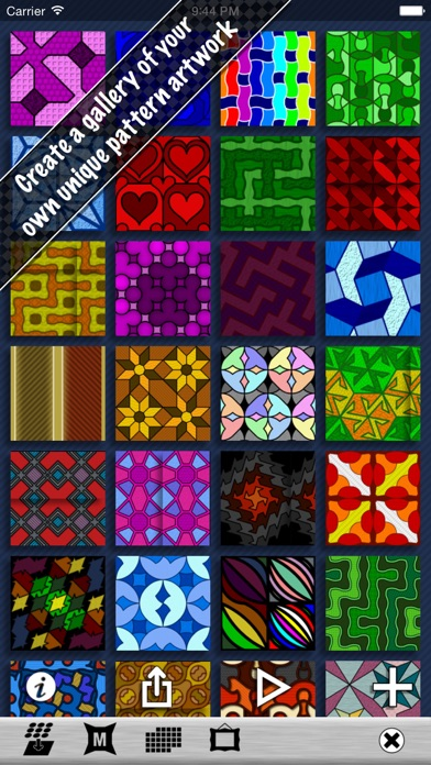 Pattern Artist - Easily Create Patterns, Wallpaper and