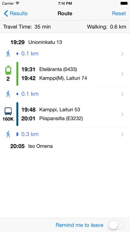 ReittiGPS (Reittiopas Journey Planner)