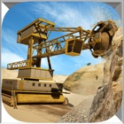 Diamond Mine excavator 3D : Construction Quarry Haul Truck Driver icon