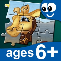 Kids Puzzles 6+: Jigsaw Puzzle School Learning Game for Preschoolers and Toddlers to Develop Concentration and Problem Solving Skills