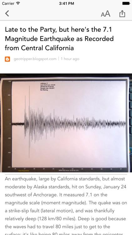 Earthquake Alert Monitor & USGS Quake Tracker screenshot-3