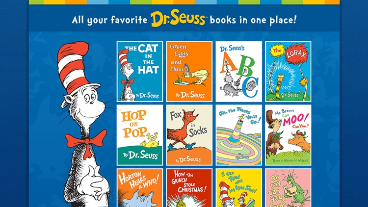 Dr. Seuss Treasury - School screenshot-0