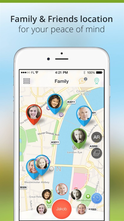 Family Locator - GPS Phone Tracker app image