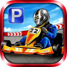 3D Go Kart Parking PRO - Full High Speed Racer Version