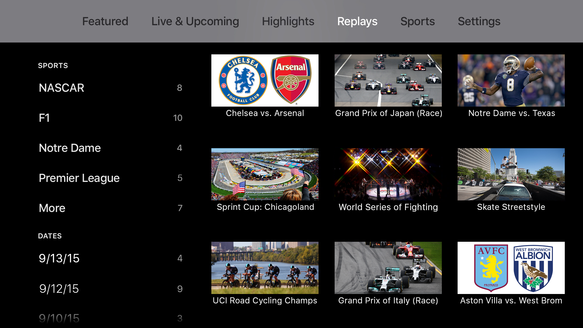 NBC Sports screenshot 12