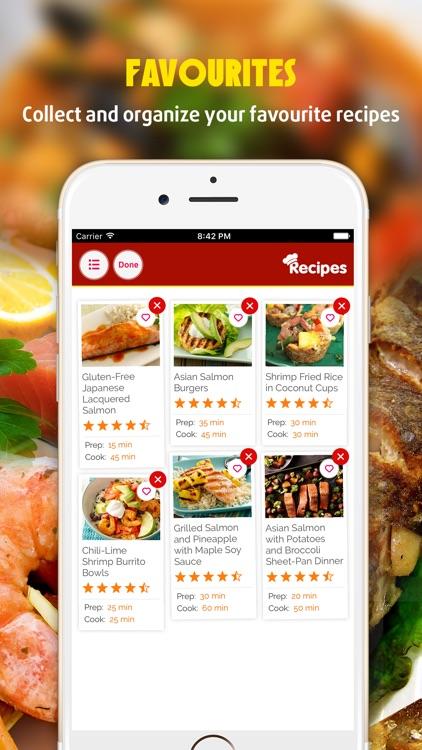 Fish and Seafood Recipes Pro screenshot-3