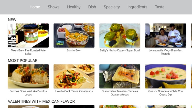 Mexican recipes by ifood.tv