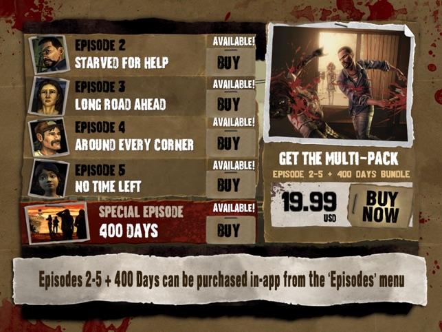 Walking Dead: The Game on the App Store