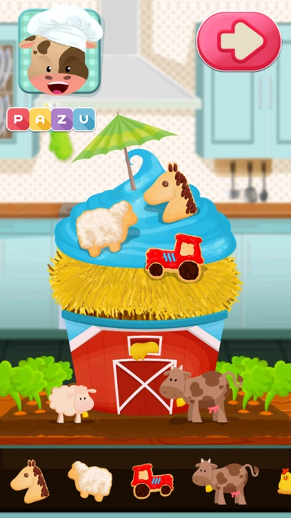 Cupcake Chefs - Making & Cooking Cupcakes Game for Kids, by Pazu screenshot-3
