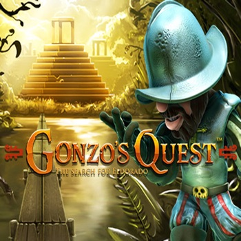Gonzo's Quest - Casino Slot Machine of the NetEnt Slots Games Developer