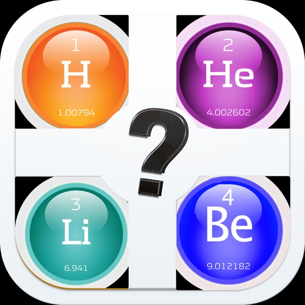 Quiz pic periodic table of the elements learning game on the app quiz pic periodic table of the elements learning game on the app store urtaz Image collections